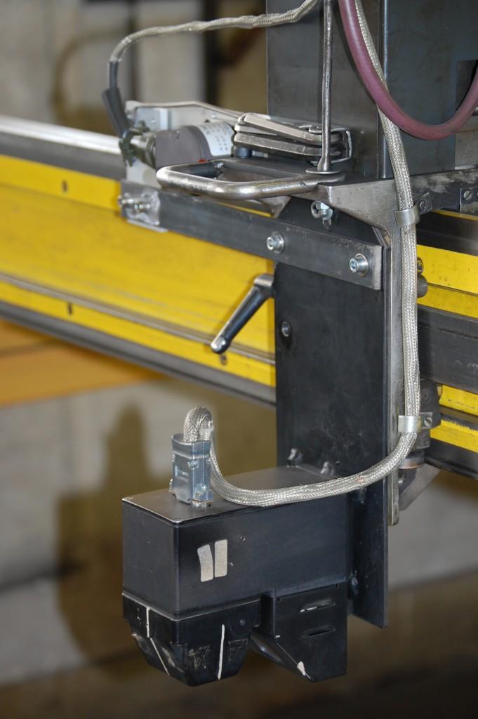 Replicator CCD kamera monterat på en Esab Picorex