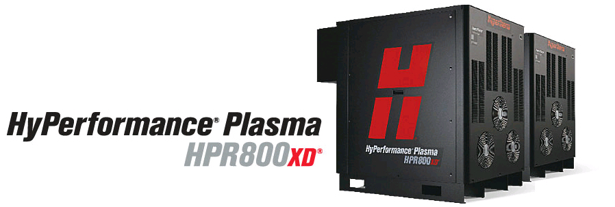 Hypertherm HPR800xd HyPerformance plasma