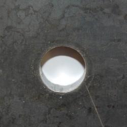 UltraSharp™ Hole technology gör det möjligt att skära mycket små hål med fantastisk kvalitet.