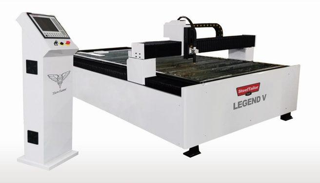 SWEDCUT Legend V skärmaskin för små verkstäder, plåtslagerier och skolor.